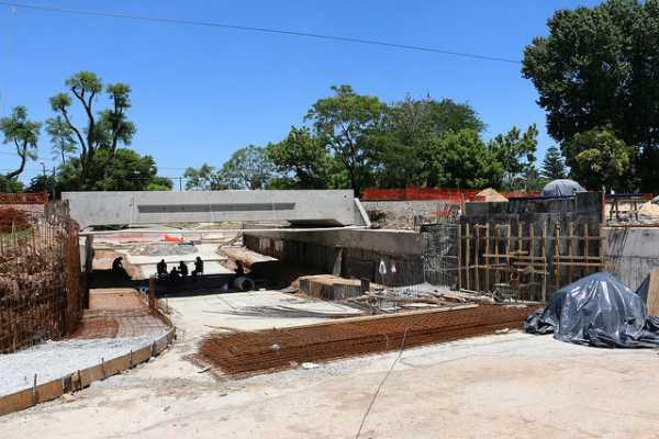 En Villa Adelina avanzan las obras del túnel la Calandria
