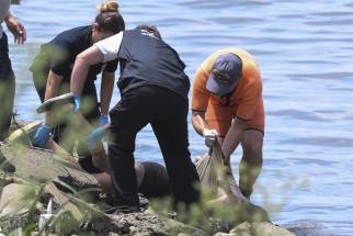 Encuentran el cuerpo de una mujer en la costa de Vicente López ()
