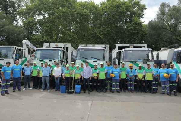 San Isidro presentó su servicio complementario de higiene urbana