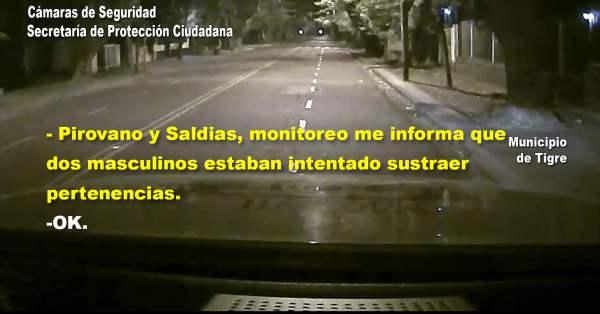Los detienen en Tigre ebrios y robando pertenencias de una moto