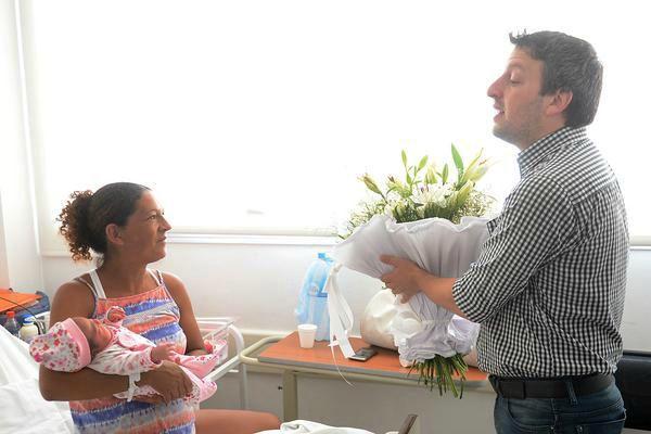 Nació Ámbar, la primera bebé del año en Tigre