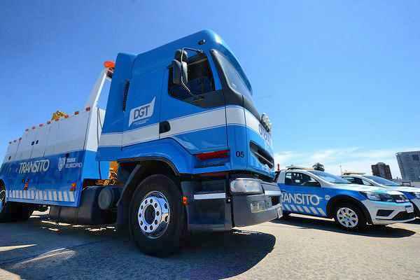 Tigre renovó su flota de grúas para mejorar la seguridad vial