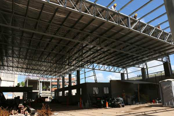Avanza la ampliación del hospital Materno Infantil de San Isidro