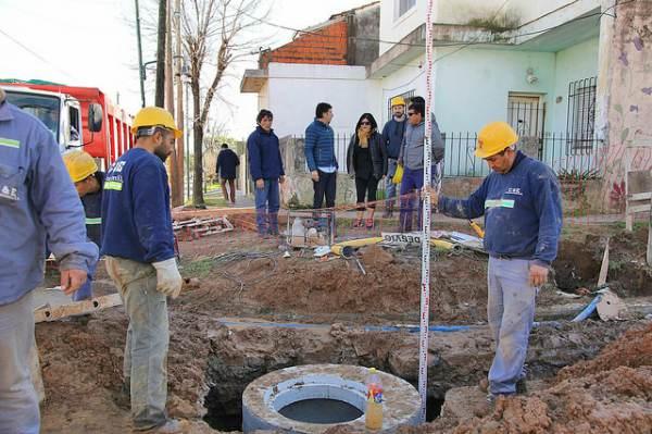 San Isidro: en 2017 el municipio realizó importantes mejoras en el barrio La Cava.