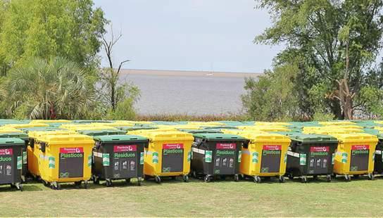 San Isidro tiene más de 6 mil contendores en la vía pública.