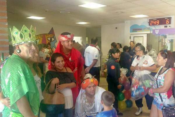 Los Reyes Magos visitaron a los recién nacidos y las mamás de Tigre.