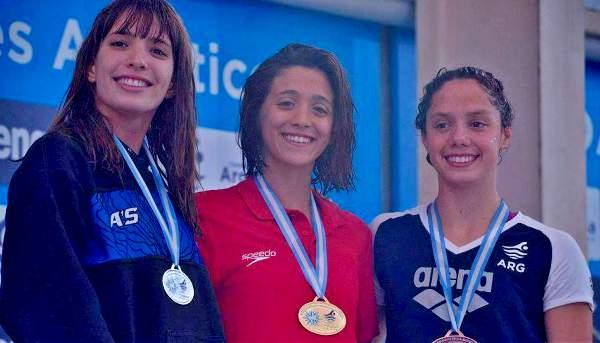 El equipo Municipal de Natación, tercero en un Campeonato Nacional.