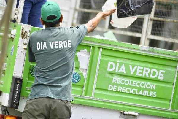Día Verde superó los dos millones de kilos en residuos reciclables recolectados en el 2017.