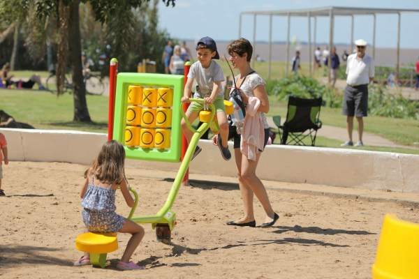 El verano en San Isidro se disfruta al aire libre.