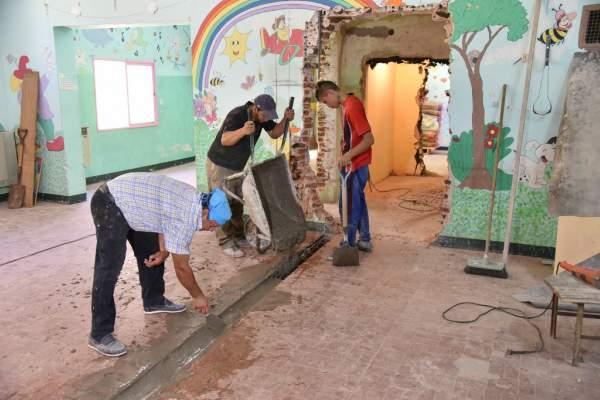El Municipio remodela tres Centros de Cuidado Infantil.