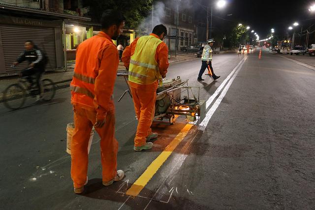 En 2017 San Isidro señalizó más de 30 kilómetros de calles.