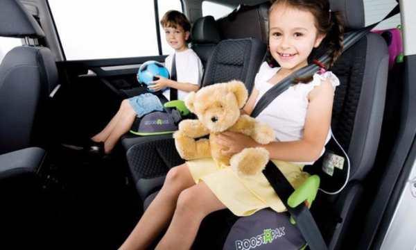 Es obligatorio en todo el país el uso de sillas de seguridad para menores de 10 años