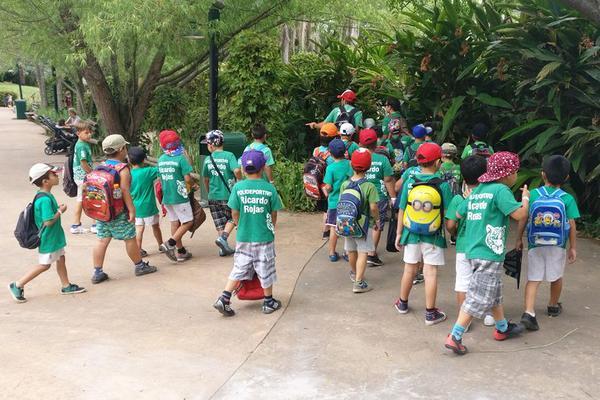 Los chicos de las colonias de verano de Tigre visitaron un bioparque