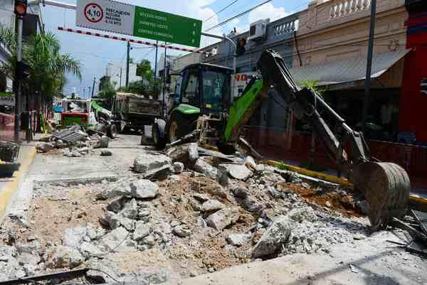 San Fernando realiza un intenso mantenimiento integral del túnel de Av. Avellaneda