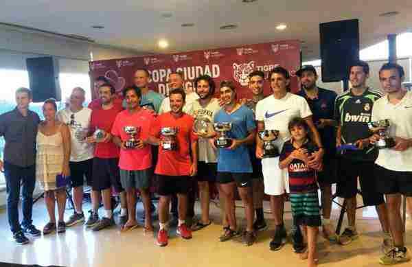 El municipio premió a los ganadores de la Copa Ciudad de Tigre