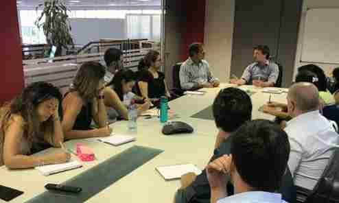 Tigre compartió su modelo de gestión con la Fundación Getulio Vargas de Brasil
