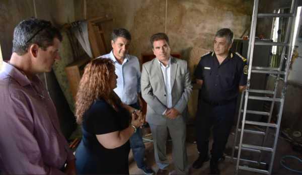 Jorge Macri y Ritondo anunciaron demolición de un búnker de droga en Vicente López