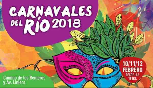 Tigre se prepara para recibir los Carnavales del Río 2018