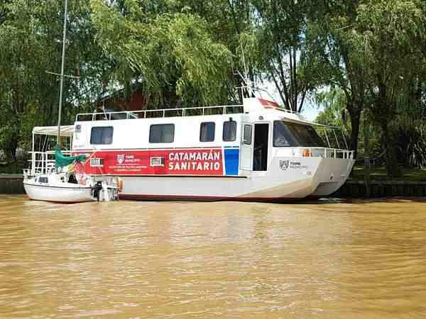Fue el número de asistencias médicas en el Catamarán Sanitario y en las salitas de Río Capitán y  Río Carapachay. Pediatría y medicina general, entre las especialidades más solicitadas.