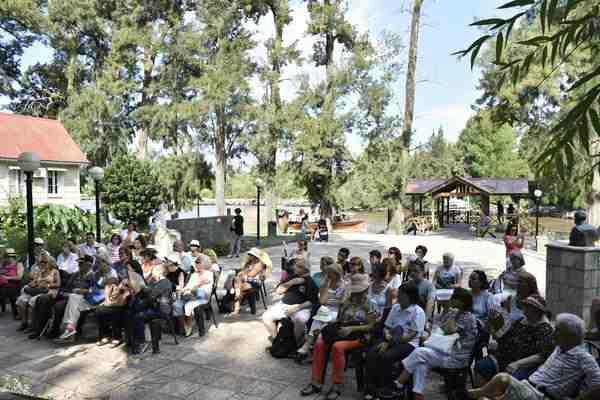 Paseo de los Escritores recorrió la obra literaria de Sarmiento y su relación con el Delta de Tigre