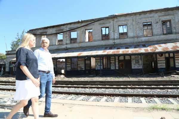 Baradero tendrá una nueva estación de tren