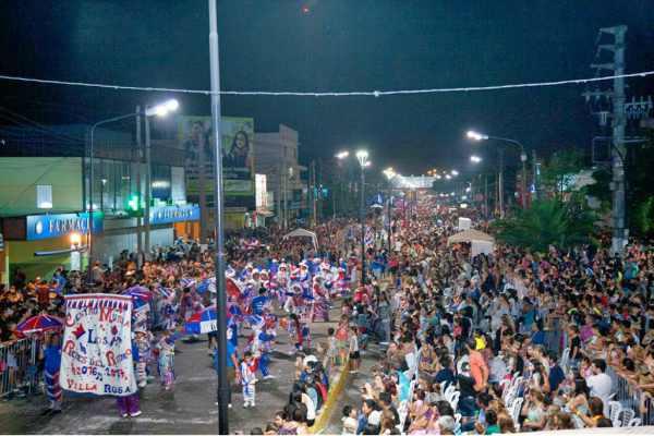 Pilar, listo para vivir la fiesta del Carnaval