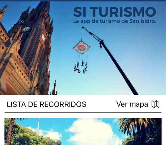 Nueva aplicación móvil para el turismo en San Isidro