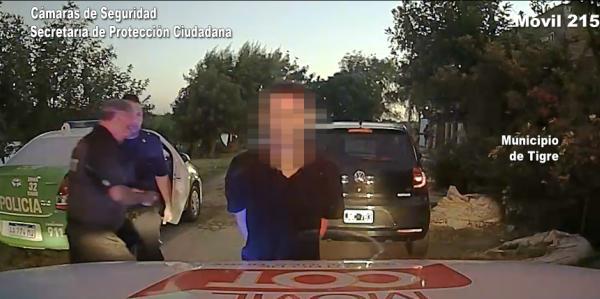 Tres detenidos con un auto robado en Troncos del Talar