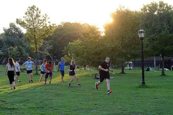 La naturaleza de Tigre invita a practicar running