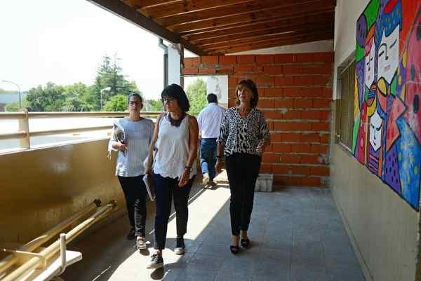 El Municipio trabaja a pleno en la renovación de la Escuela N° 21 de San Fernando