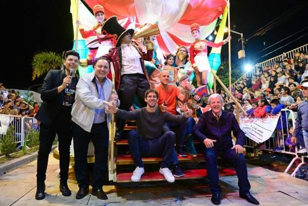 Espectacular cierre de la edición 2018 del Gran Corso Familiar de San Fernando.