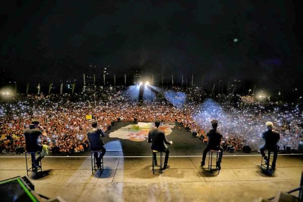 Más de 100 mil personas disfrutaron el carnaval de Vicente López.