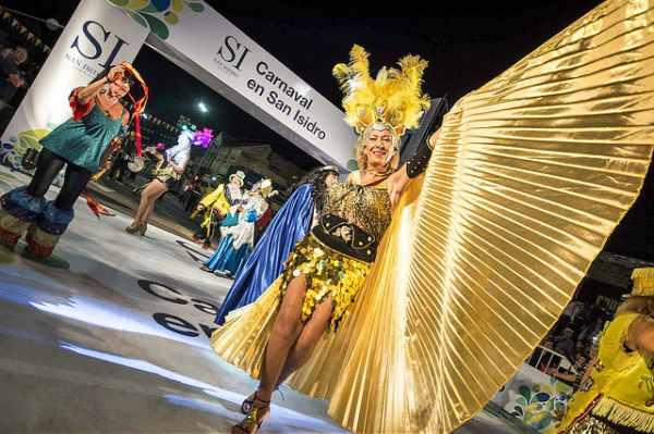 Más de 70 mil personas en los carnavales de San Isidro