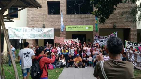Julio Zamora sobre el cierre de escuelas en el Delta