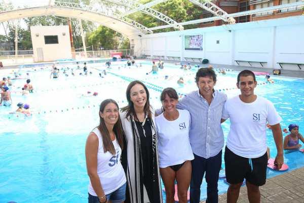 Vidal visitó las colonias de verano de San Isidro