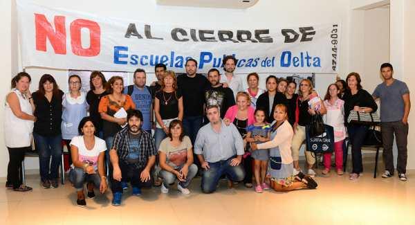 La Defensoría del Pueblo asistirá a las familias contra el cierre de escuelas en el Delta de San Fernando
