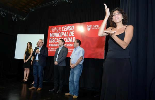 Tigre presentó el primer Censo Municipal de Discapacidad