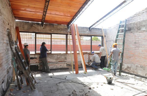 Tigre prepara las escuelas para el inicio del ciclo lectivo