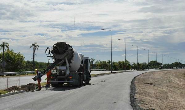 Avanzan las obras del doble carril en el Camino de los Remeros