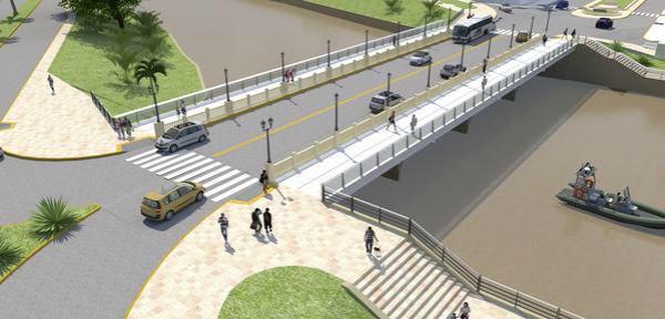 Tigre pone en valor el Puente Sacriste y mejora su seguridad peatonal