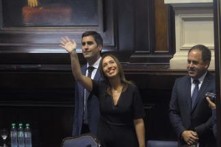 María Eugenia Vidal, envió hoy un duro mensaje a los gremios docentes
