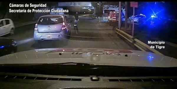 Maratónica persecución a una moto robada en Tigre