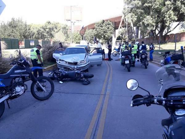 Detención de dos motochorros a metros del Paseo de la Costa.