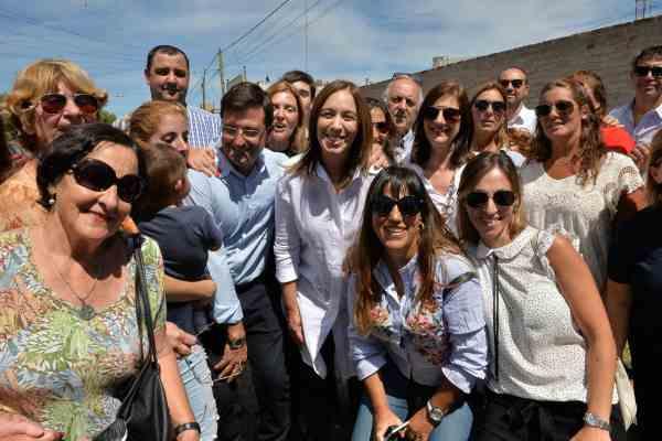En el día de la mujer, Vidal participó de un acto con Mauricio Macri