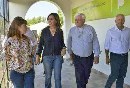"""Ducoté y Vidal inauguraron la casa de encuentro """"Sagrada Familia"""""""