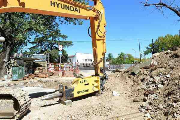 Tigre construye un nuevo paso bajo nivel en las vías del ferrocarril Mitre