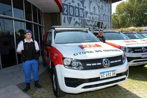 Tigre incorporó 15 nuevos móviles al Sistema de Protección Ciudadana