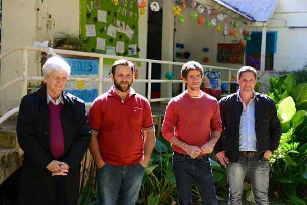 Andreotti participó de la reapertura de la Escuela isleña de arroyo Caracoles