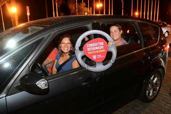 Tigre premió a los conductores designados durante los festejos por San Patricio