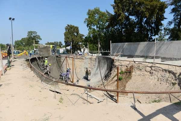 Avanza la obra del Parque de Deportes Extremos en San Fernando
